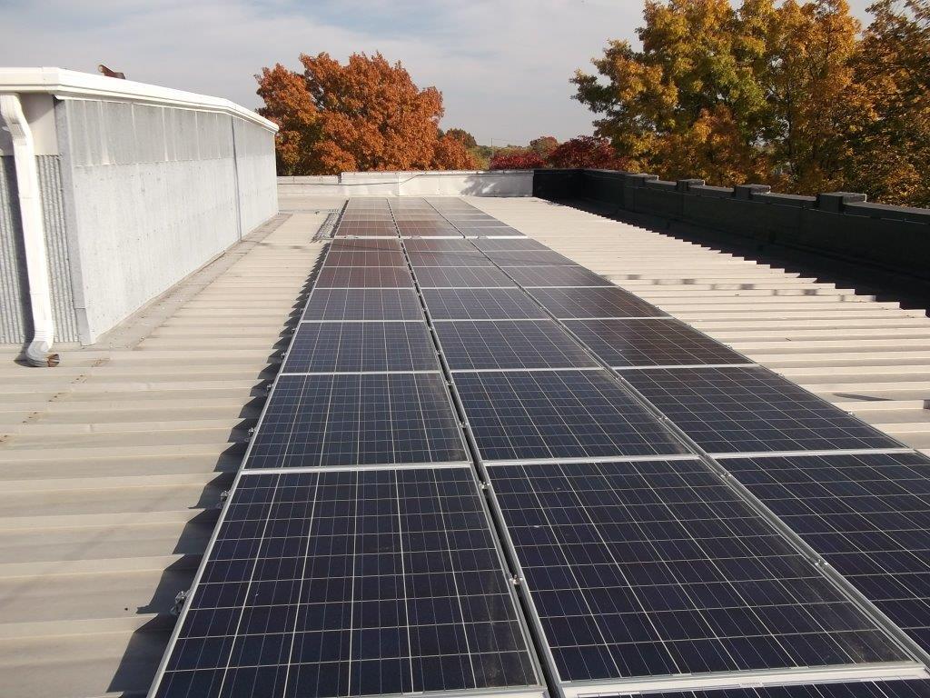 Pettis Co. Running on Solar Power