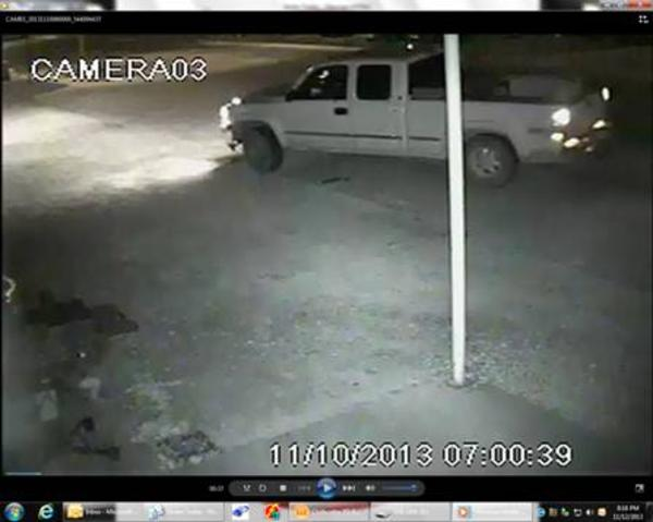 Police Search for Stolen Trailer