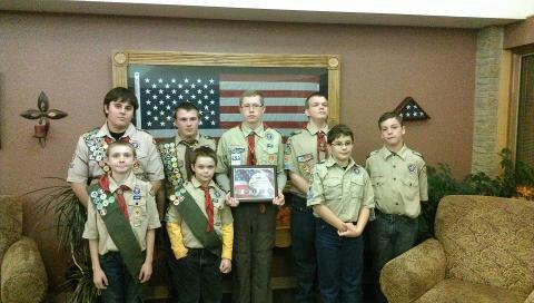 Boy Scouts Honor Veterans