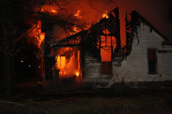 Chula Fire Consumes Home