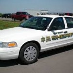 Clay County Sheriffs Car