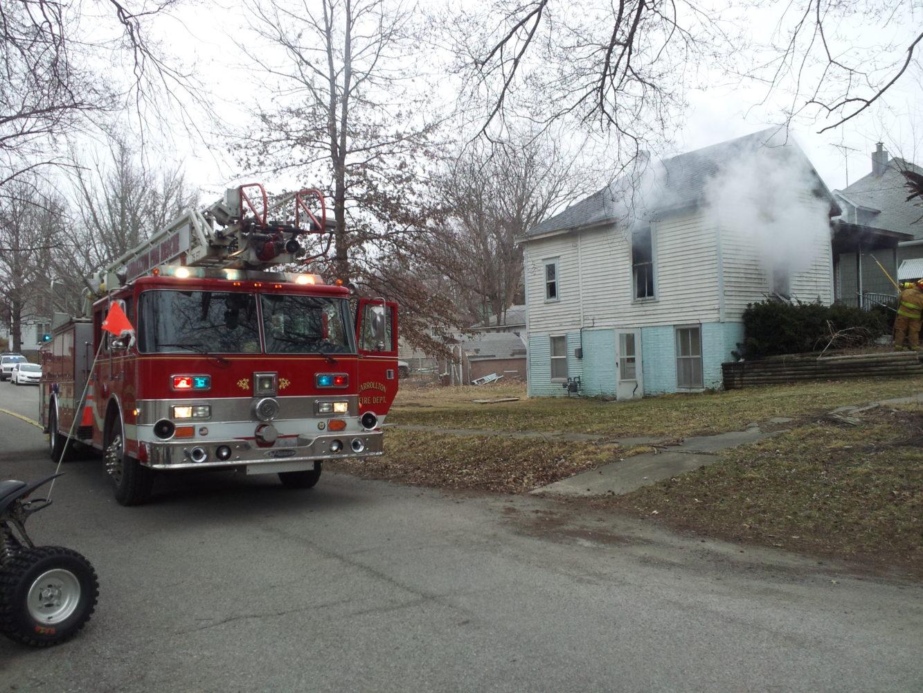 Blaze Guts Carrollton Home