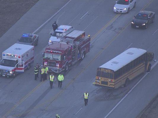 Man Dies in Schoolbus Wreck