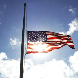 Half-Staff Flag Decree Honors Peace Officers