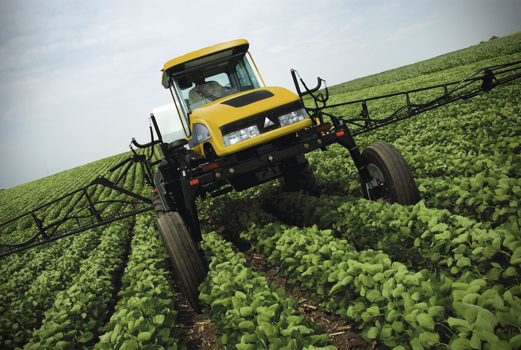 Farm Sprayer Accident in Jackson County