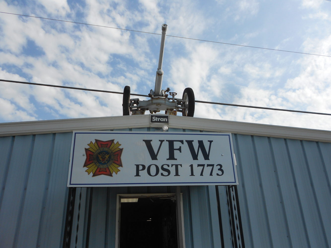 VFW Post 1773 Cancellation