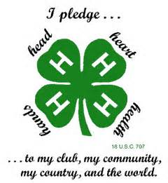 NEWSMAKER — Local 4-H club marks National 4-H Week