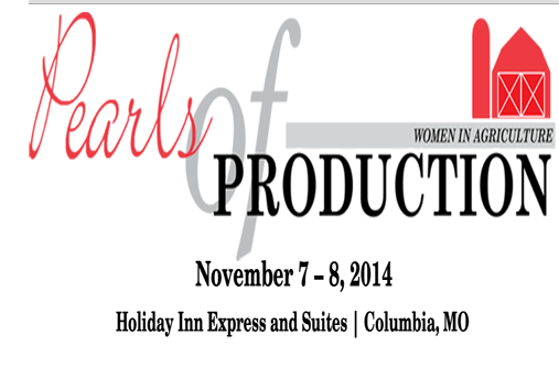 2014 Pearls of Production: Women In Ag