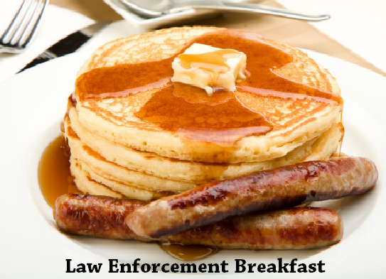Law Enforcement and First Responder Appreciation Breakfast