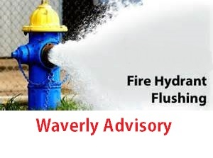 Waverly Hydrant Flush Advisory