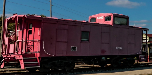 Caboose Relocated, Fundraising Continues