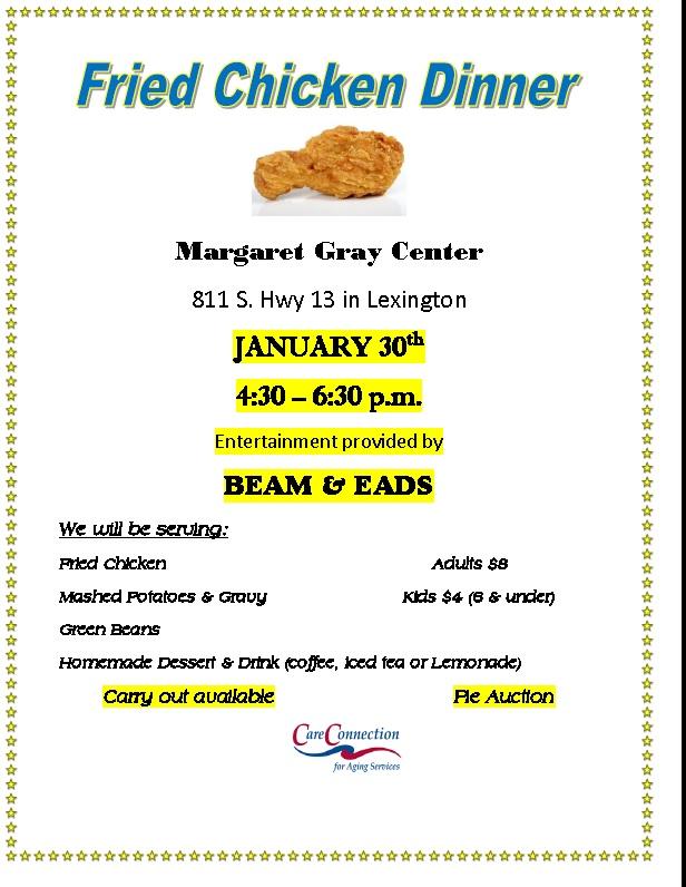 Margaret Gray Center Dinner
