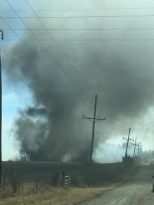 Silvey Brush Fire