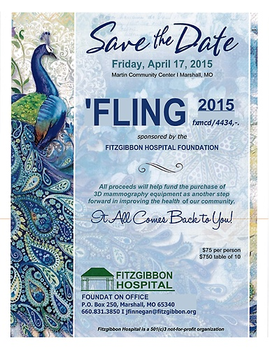 Largest Annual Fundraiser for Fitzgibbon Hospital Slated for April