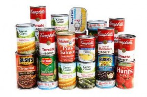 food canned goods