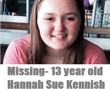 MISSING JUVENILE UPDATE: Hannah Sue Kennish Found in New Mexico