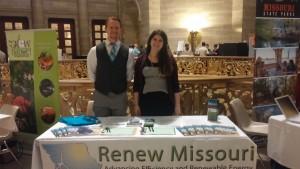 Renew Missouri booth.