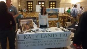 Katy Land Trust booth.