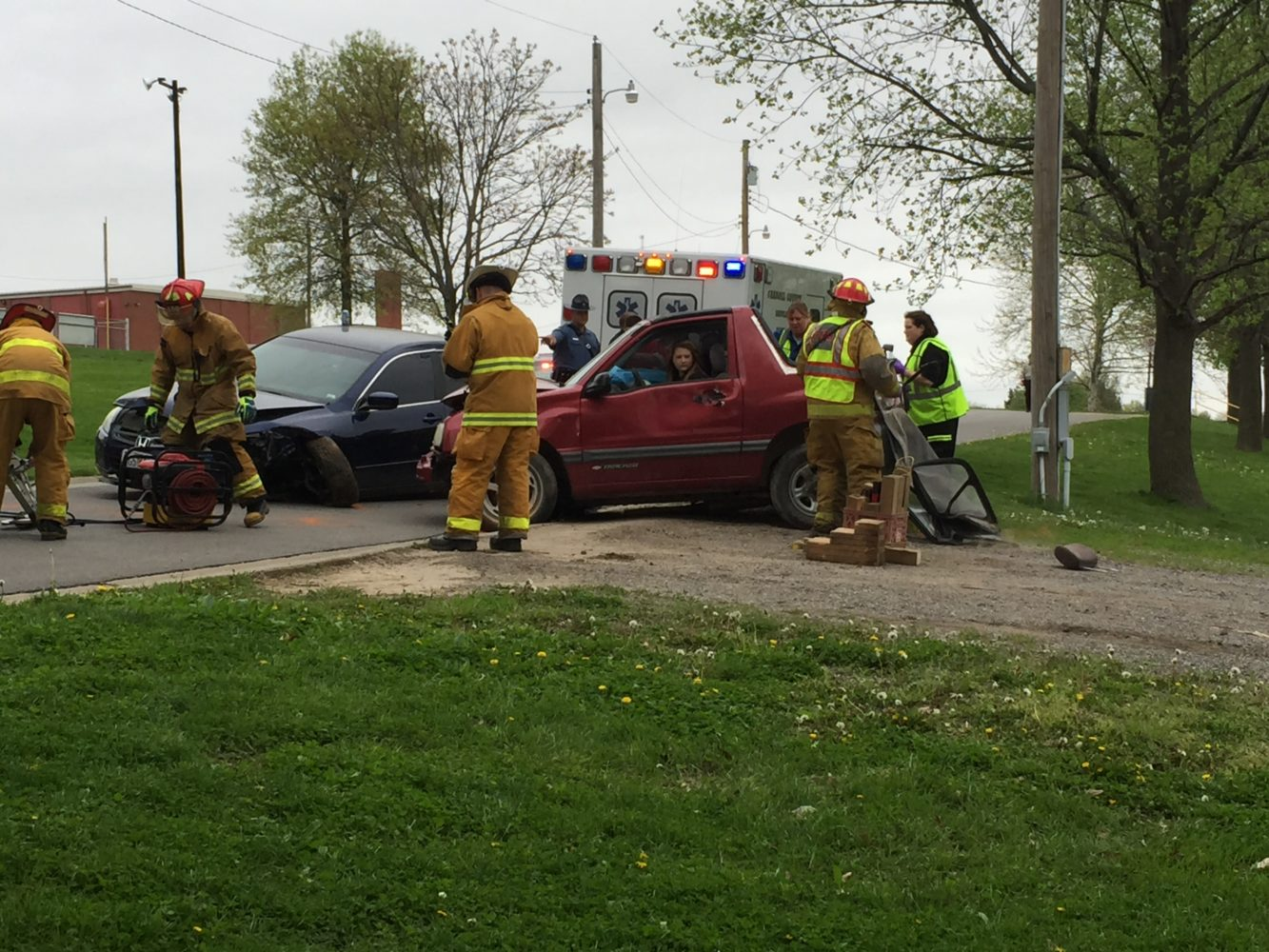 Mock Drunk Driving Accident Educates High School Students on Danger