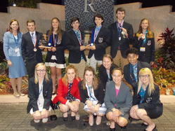 SCCC Members Win at DECA Event in Orlando