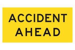 accident ahead