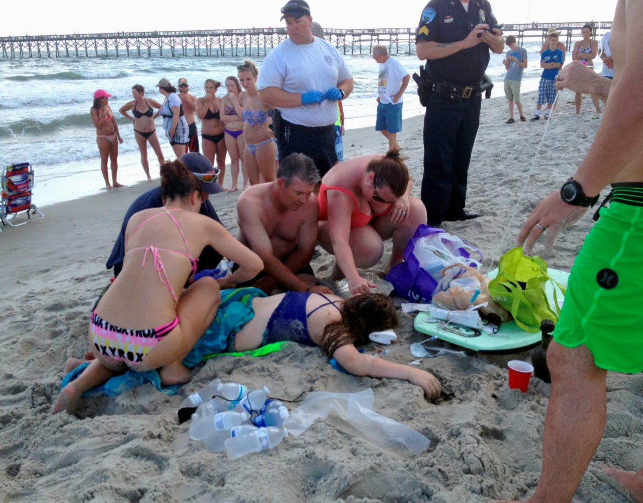 Mayor: Not enough time to close beach between shark attacks
