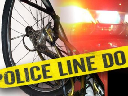 Bicyclist sustains serious injuries after collision on interstate