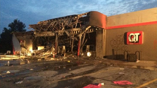 Looted Ferguson store to be transformed into training center