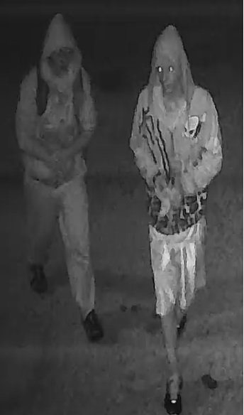 UPDATE: Carrollton Police Department Seeks Information on Hooded Suspects