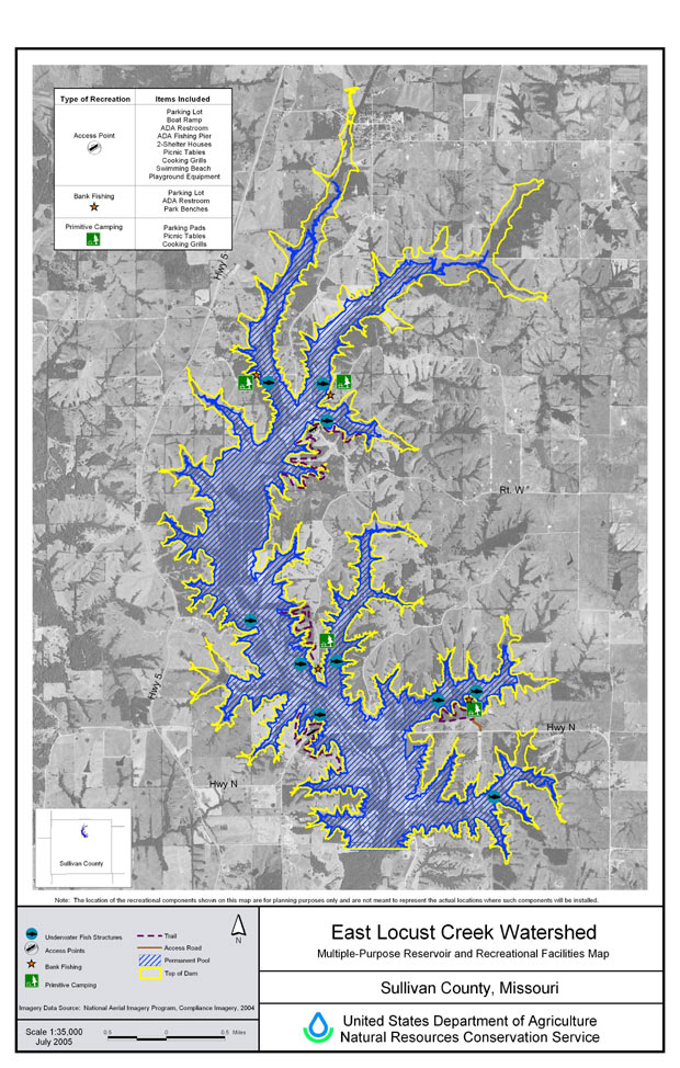 North Central Mo. Regional Water Commission touts benefit of future reservoir