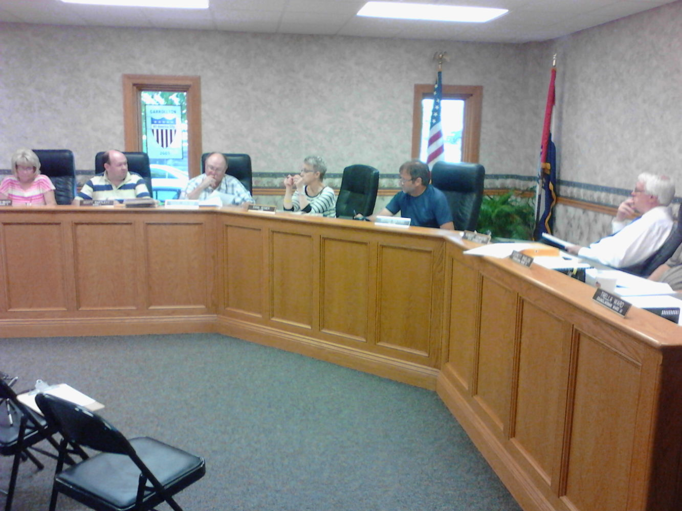 Carrollton city leaders gather for Oct. regular session