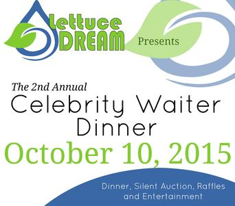 "Lettuce Dream hosts ""Build the Dream – A Celebrity Waiter Dinner"" in northwest Missouri"