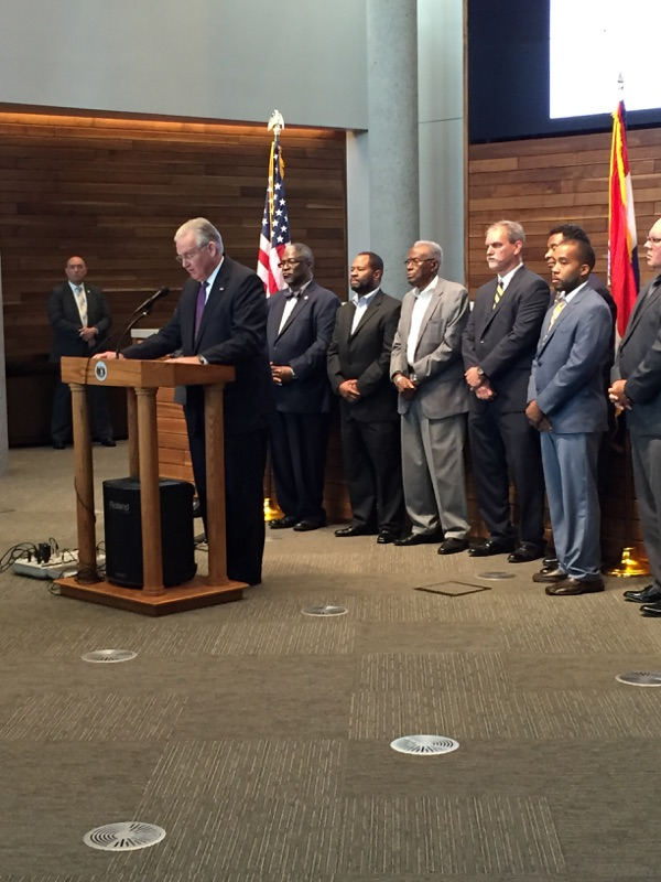 Gov. Nixon makes law enforcement appointments, calls for better officer training