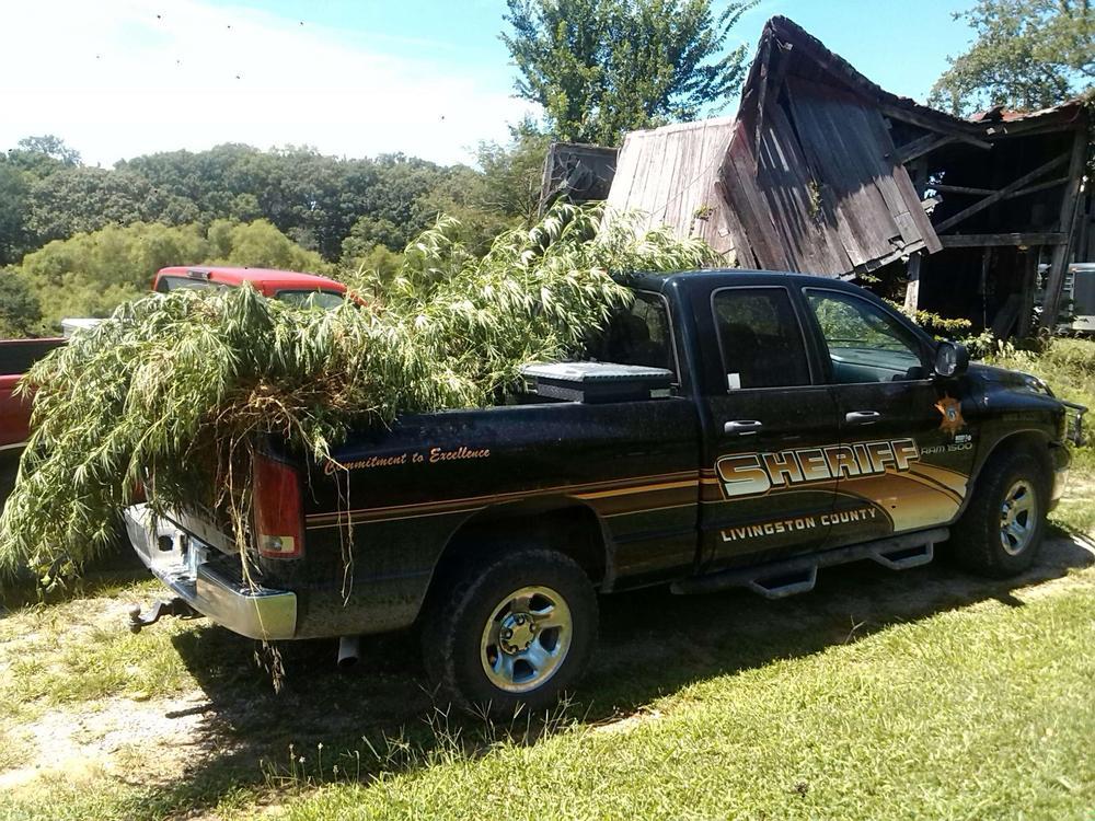 Search warrant reveals stolen property, marijuana in Livingston County