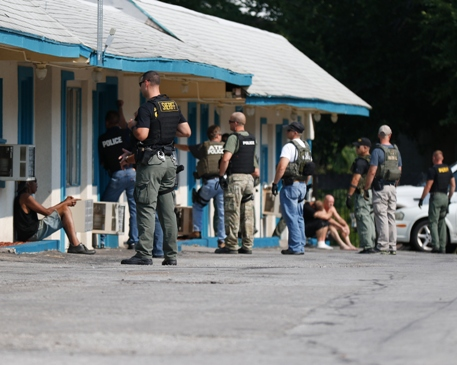 Motel raids result in numerous Independence arrests