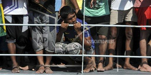 Suspected smugglers of migrants charged