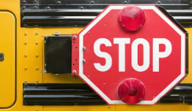 Multiple children jostled by school bus accident