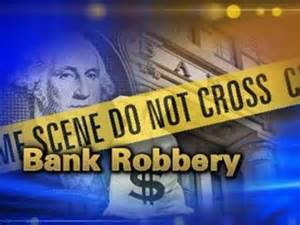 Bank robbery in Johnson County