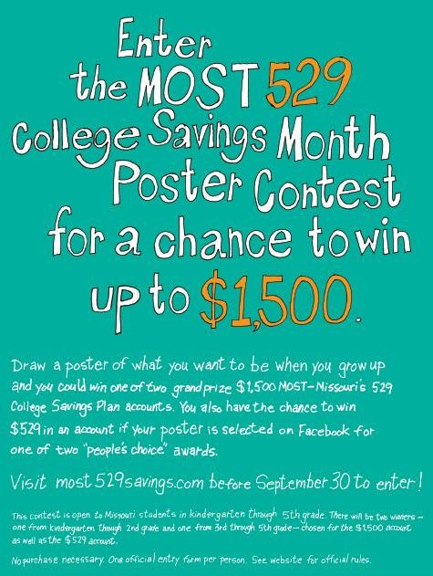 MOST 529 poster contest