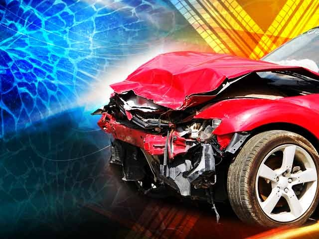 Four treated after collision in Johnson County
