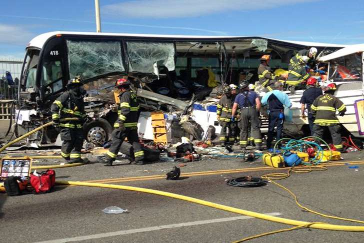 UPDATE: Four killed, 12 critically hurt in Seattle crash