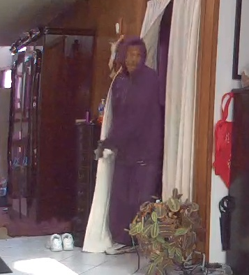 Independence Police seeking identification of armed burglary suspect