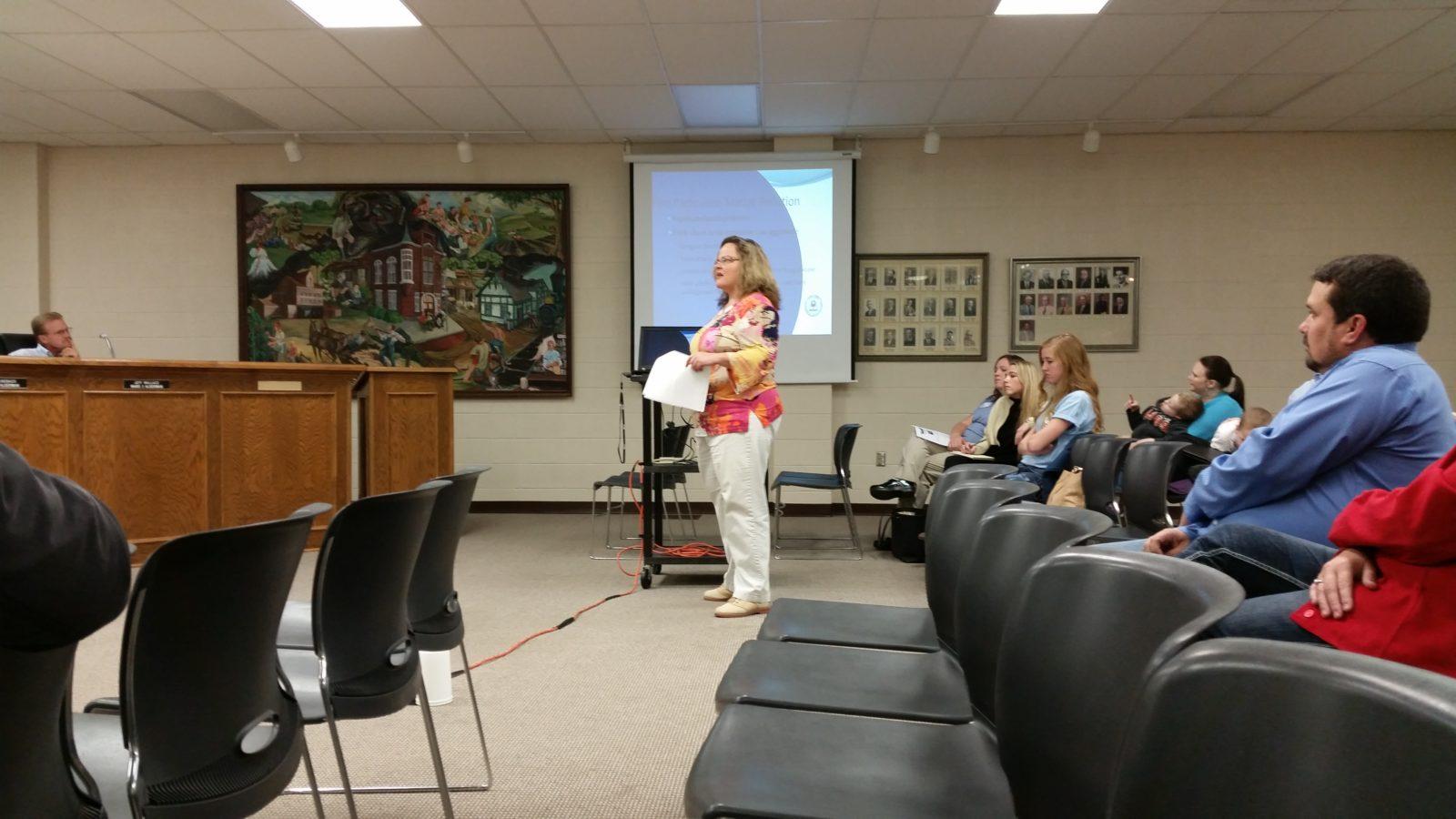 Higginsville Board of Aldermen meeting