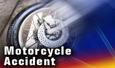 Benton County motorcycle crash injures two