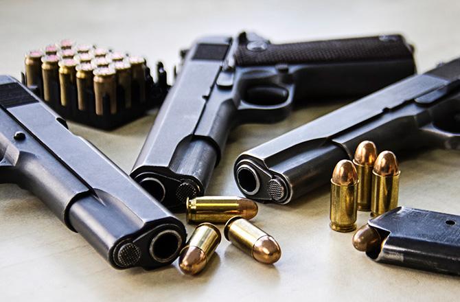 Columbia man arrested with stolen handgun