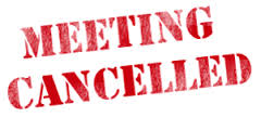Thursday night Park Board meeting in Cameron cancelled