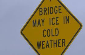 Weather causes slip-up on Grand River Bridge