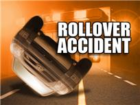 Driver injured in Cass County Rollover crash