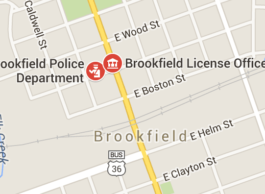 Brookfield License Office closed for two February business days