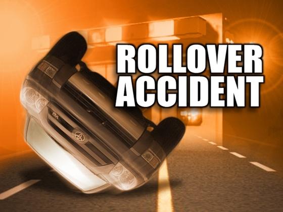 Rollover crash injures Lathrop driver